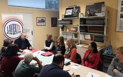 La CET es reuneix amb la directora d'Afers Socials