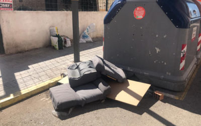 La CET contacta con el Ayuntamiento de Tarragona por el problema de la suciedad