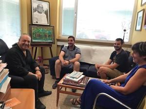 La CET i Mediterrània exploren vies de col·laboració amb Podem
