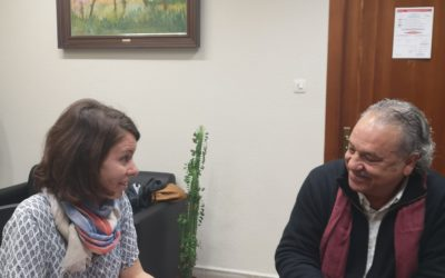 El president de la CET es reuneix amb la primera tinent d'alcalde de Tarragona