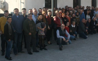 La CET celebra que la unión hace la fuerza, organizando una comida de Navidad con la presencia de cincuenta entidades