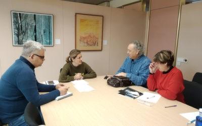 La CET i la Diputació es reuneixen amb l'objectiu de potenciar la col·laboració entre els ens