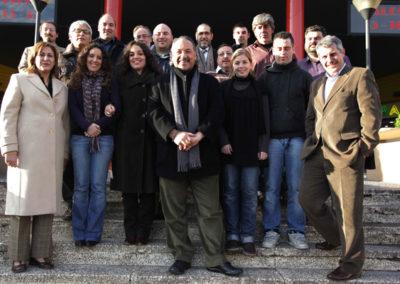 CET-COORDINADORA D'ENTITATS DE TARRAGONA-COMIDA NAVIDAD 14-12-10