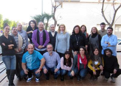 CET-COORDINADORA D'ENTITATS DE TARRAGONA-COMIDA NAVIDAD 23-12-11