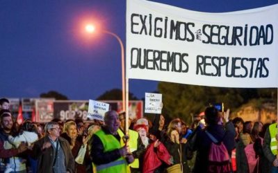 Manifestación el 19F para reclamar seguridad a la química, información y coordinación