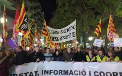 Tarragona s'uneix per reclamar més seguretat a la química
