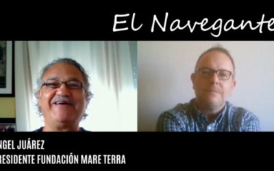 Ángel Juárez en «El Navegante»