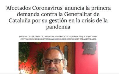 "La ""Plataforma Afectados Coronavirus"" als mitjans"